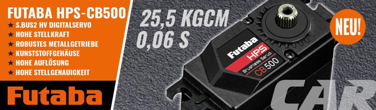 FUTABA Servo HPS CB500 Car 0,06s/25,5kg