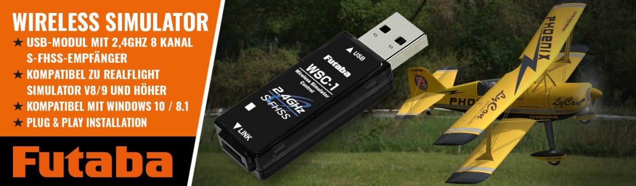 FUTABA Sim Control WSC-1