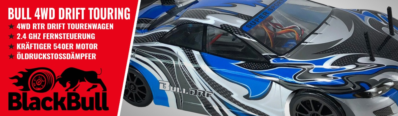 BULL 4WD EP Drift 1:10