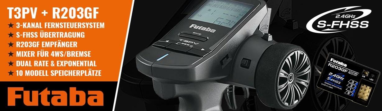 FUTABA T3PV mit R203GF (ohne Telemetrie)