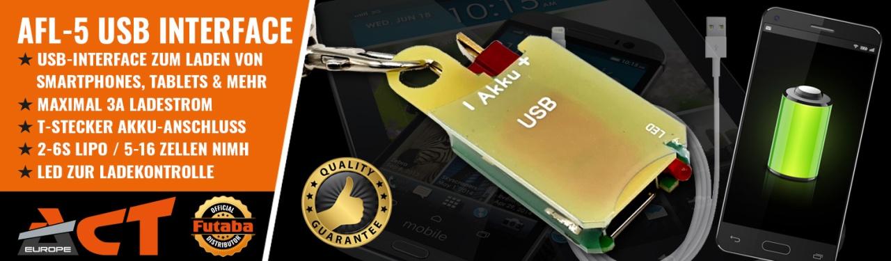 AFL-5 5V-USB-Spannungsquelle